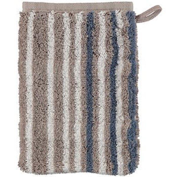 Waschhandschuh Cawö Textil 77 graphit
