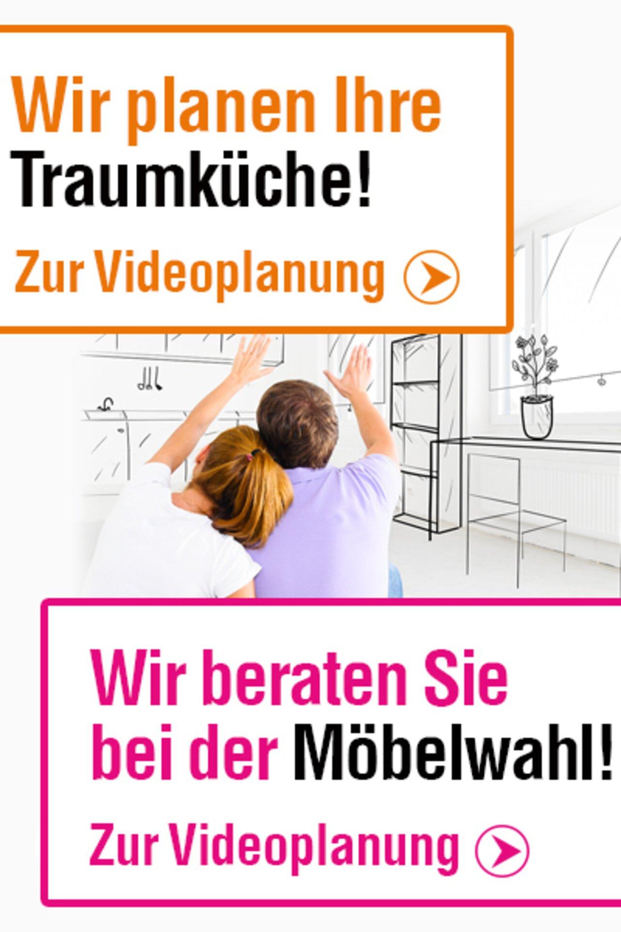 Link-Bild zur Videoplanung für Küchen und Möbel.