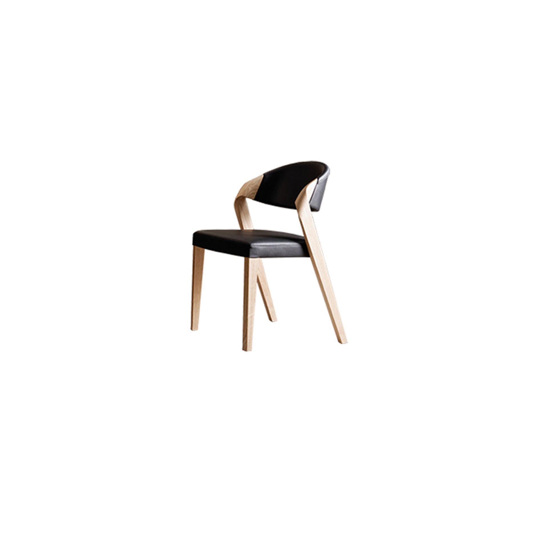 Stuhl V-ALPIN Voglauer Leder 57 x 82 x 53 cm