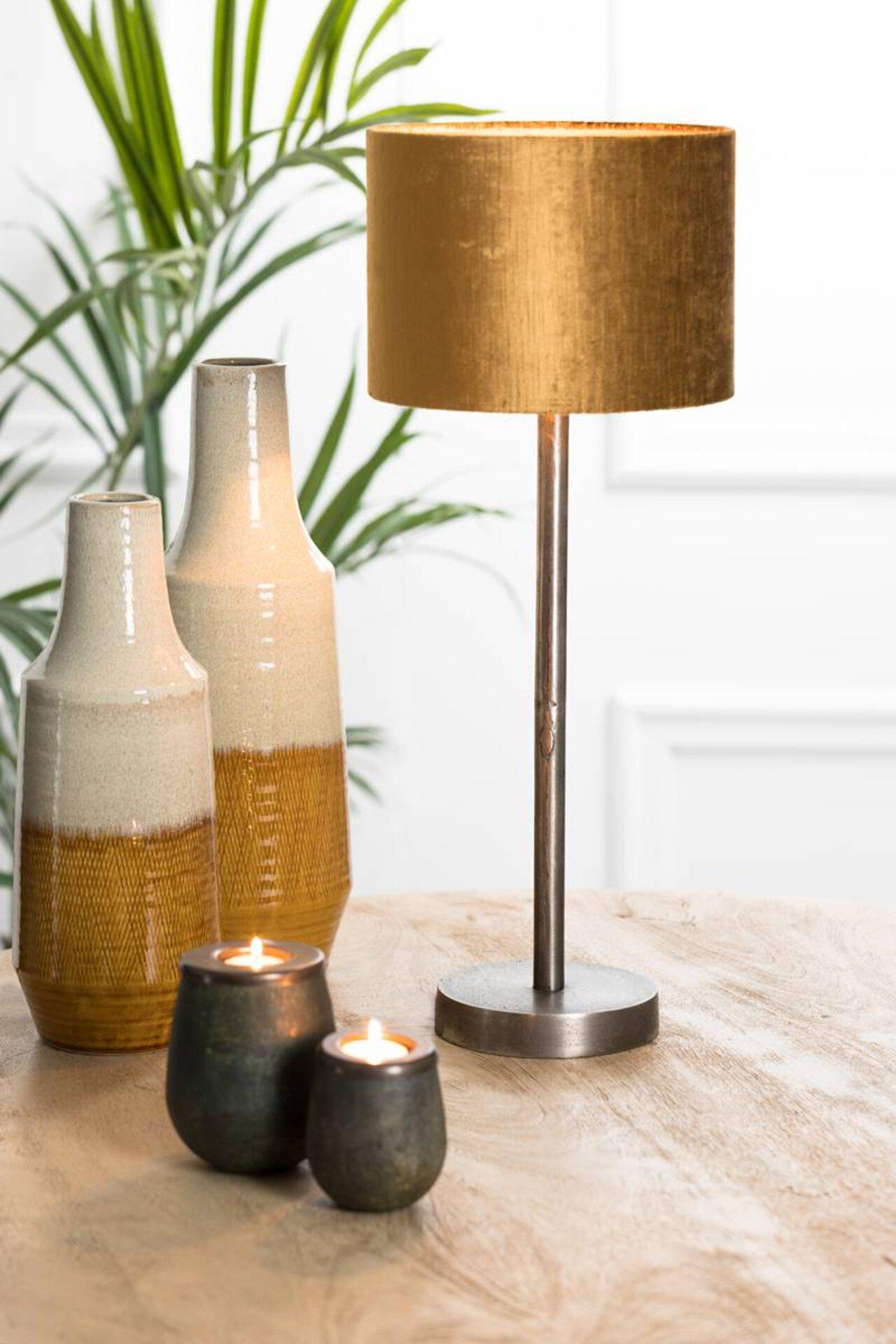 Tischleuchte UNDAI Light & Living Metall 16 x 50 x 16 cm