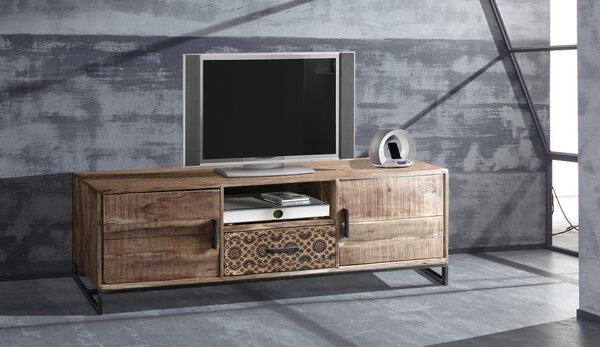 Lowboard CELECT Holz Akazie ca. 175 cm x 50 cm x 40 cm