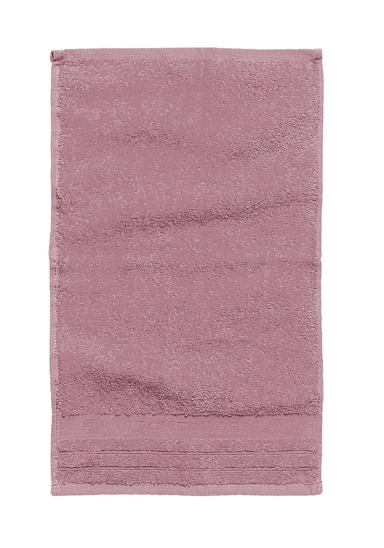 Duschtuch Uni Towel Tom Tailor Textil lila 70 x 140 cm