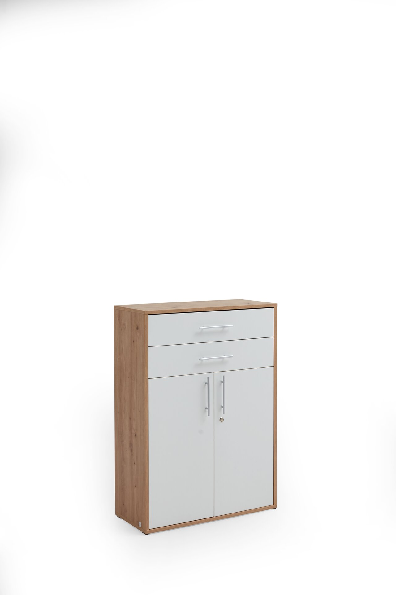 Aktenschrank PRONTO Vito Vito Holzwerkstoff braun 35 x 111 x 80 cm