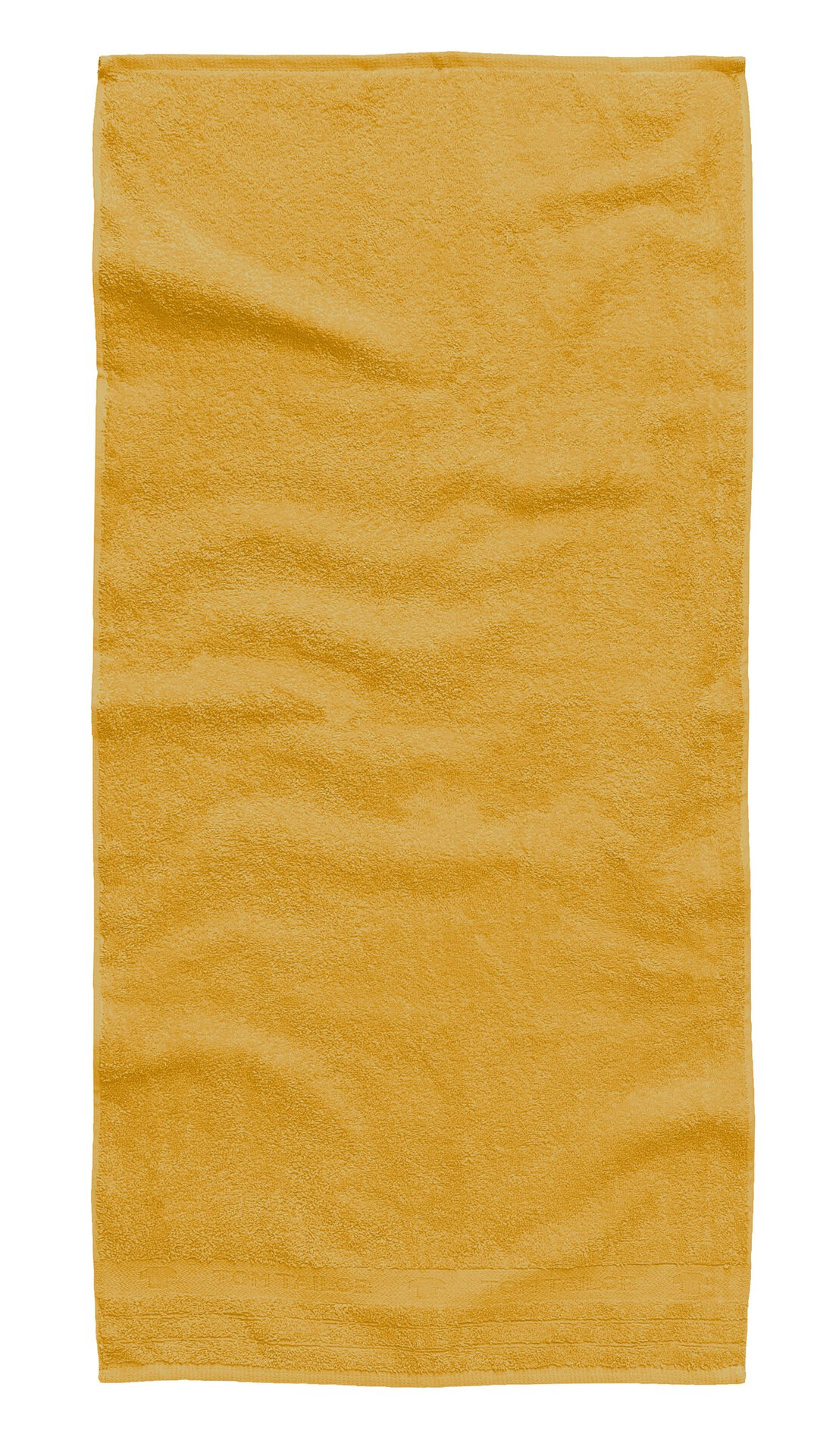 Handtuch Uni Towel Tom Tailor Textil gelb 50 x 100 cm