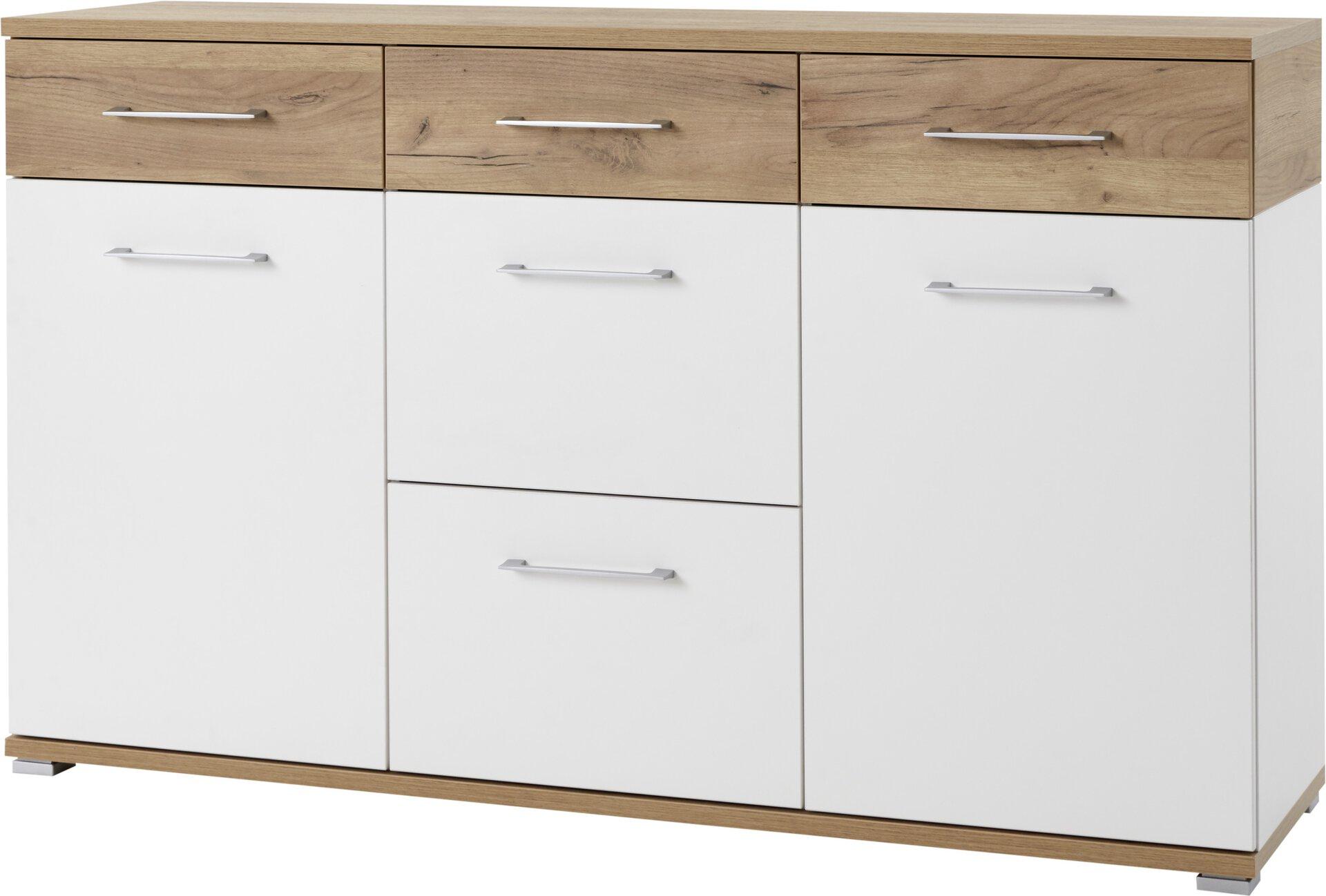 Kommode TOPIX Germania Holzwerkstoff mehrfarbig 40 x 87 x 144 cm