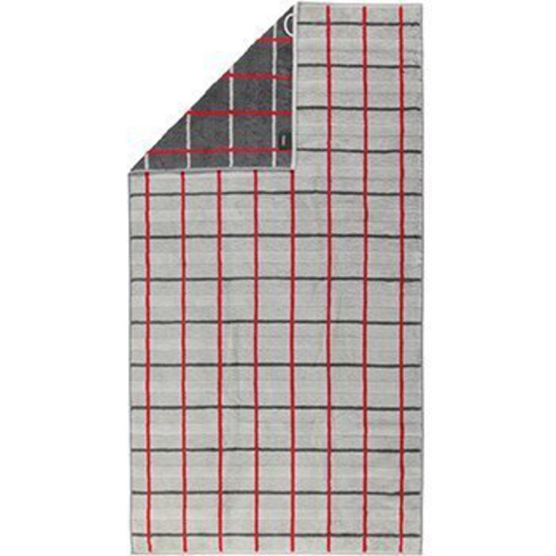 Duschtuch Cawö Textil grau 80 x 150 cm