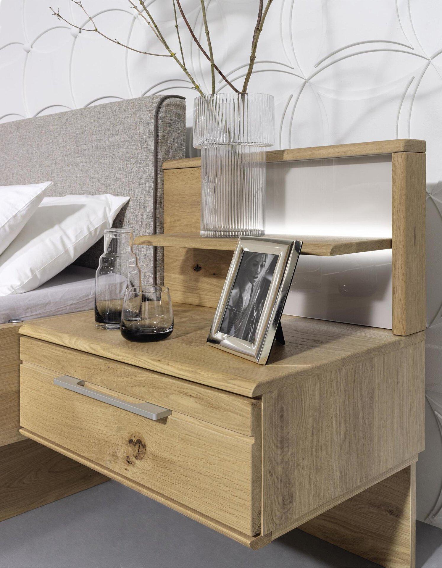 Schlafzimmer Mutola rauch BLACK Holzwerkstoff mehrfarbig 61 x 223 x 300 cm