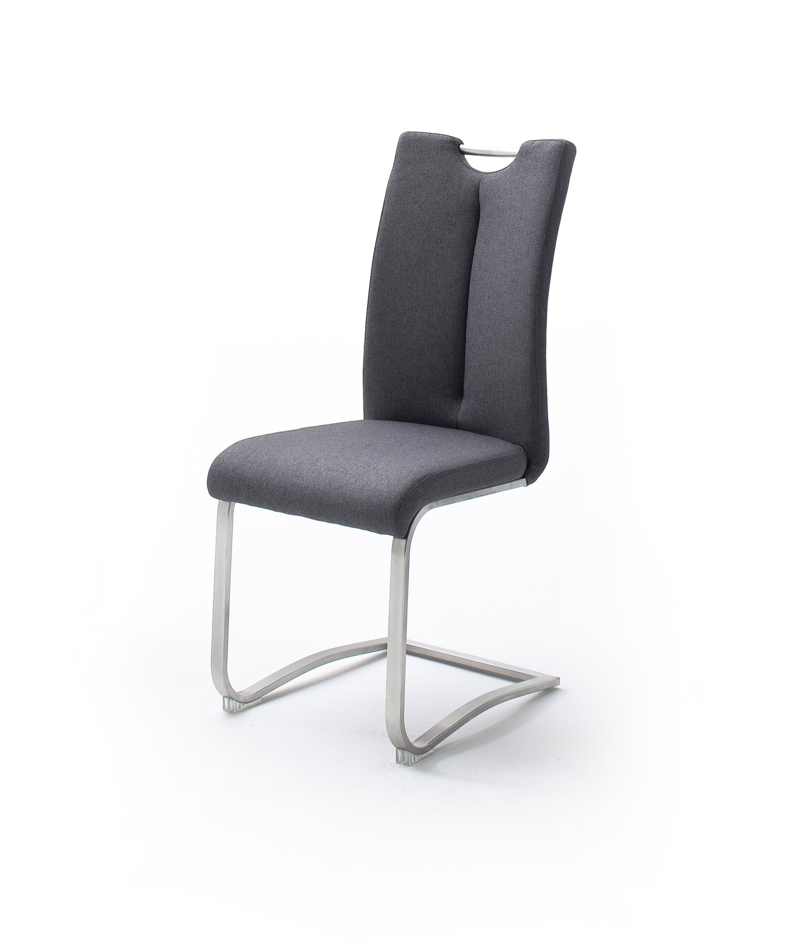 Stuhl ARTOS MCA furniture Textil grau 58 x 102 x 45 cm