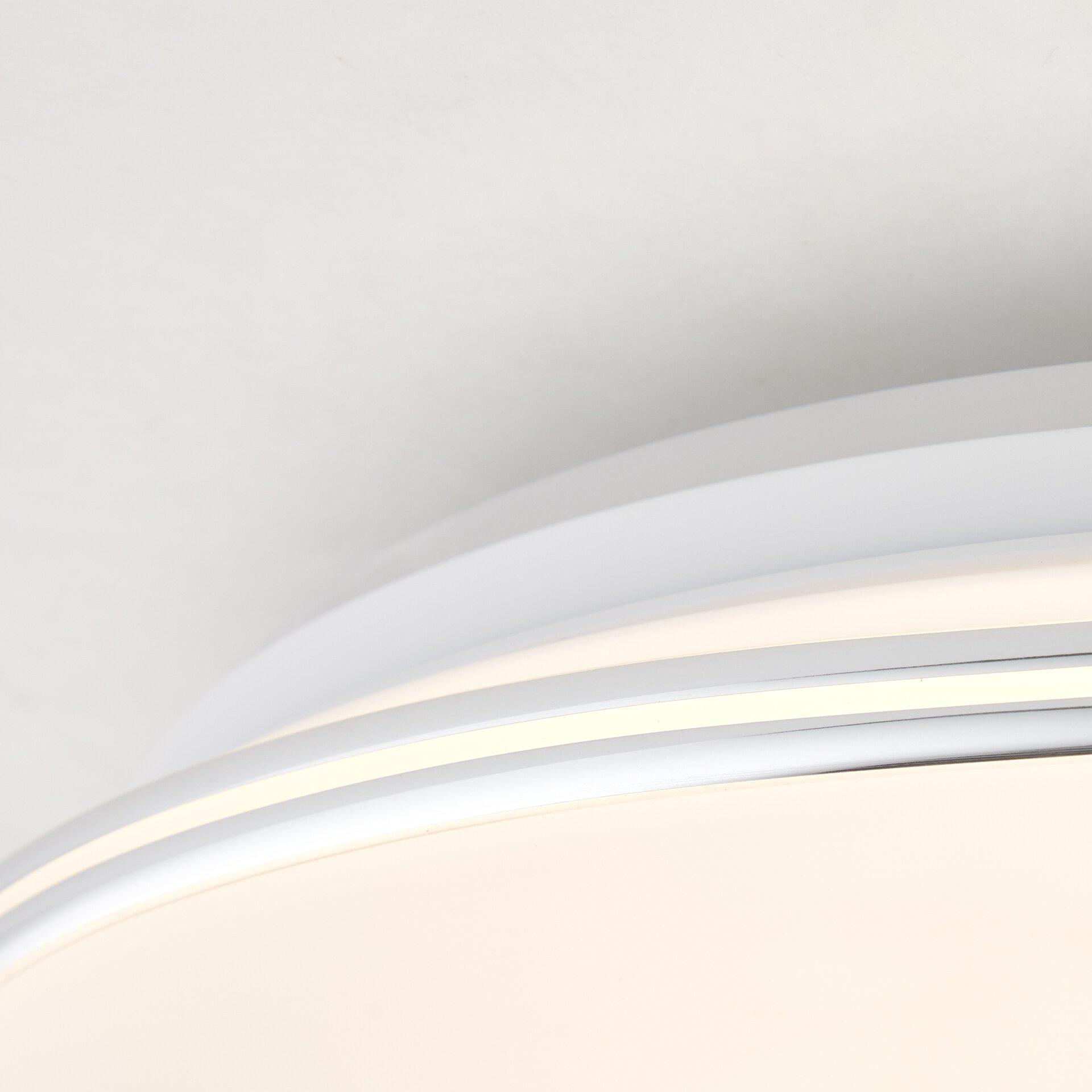 Deckenleuchte EDNA Brilliant Metall 40 x 10 x 40 cm