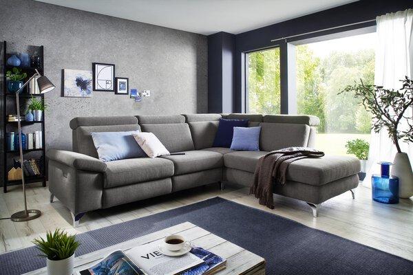 Sofa 3,5-Sitzer Vito Textil Trend grey
