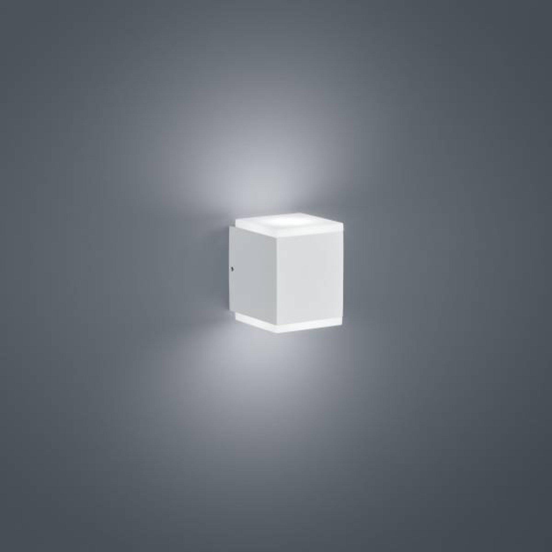 Wand-Aussenleuchte KIBO Helestra Leuchten Metall 8 x 11 x 9 cm