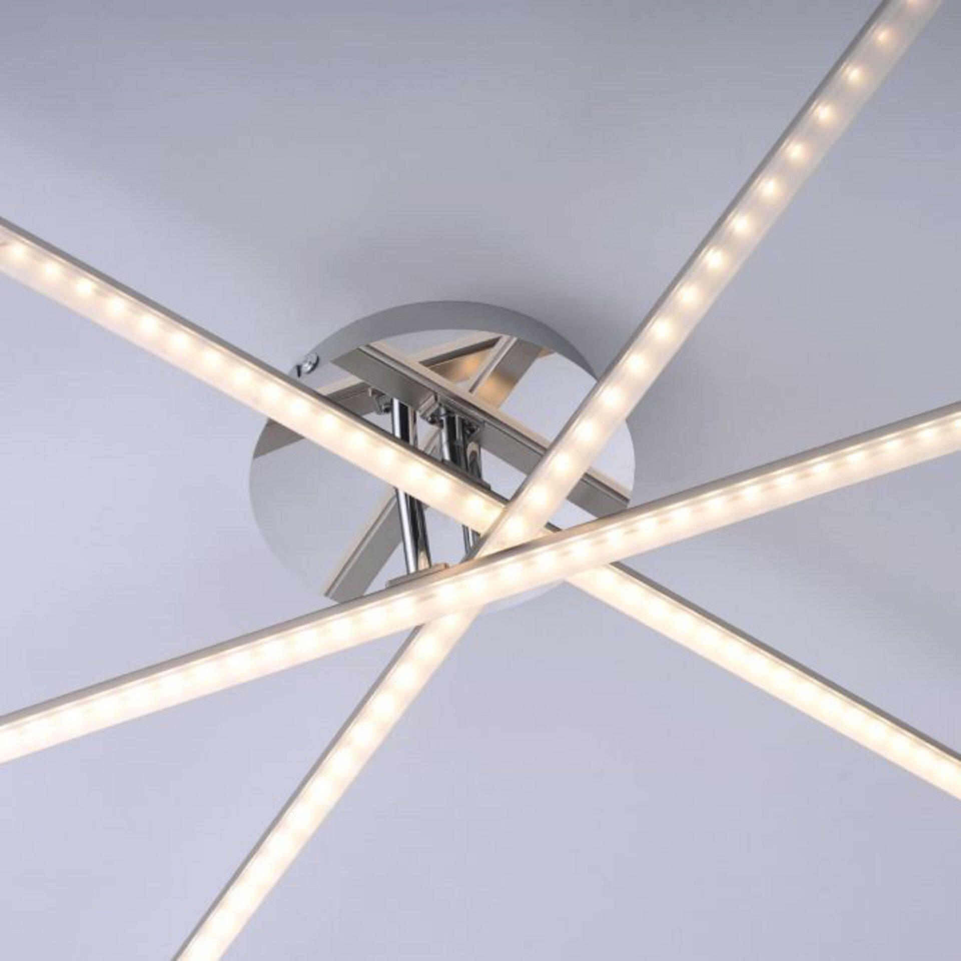 Deckenleuchte SIMON Leuchtendirekt Metall 81 x 12 x 101 cm
