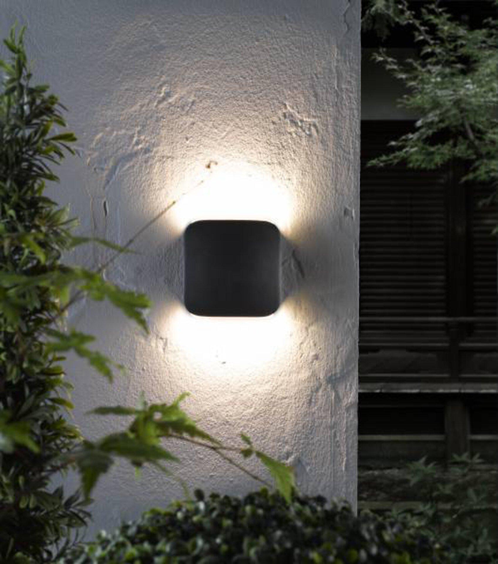 Wand-Aussenleuchte Pebble Casa Nova Metall 13 x 13 x 3 cm