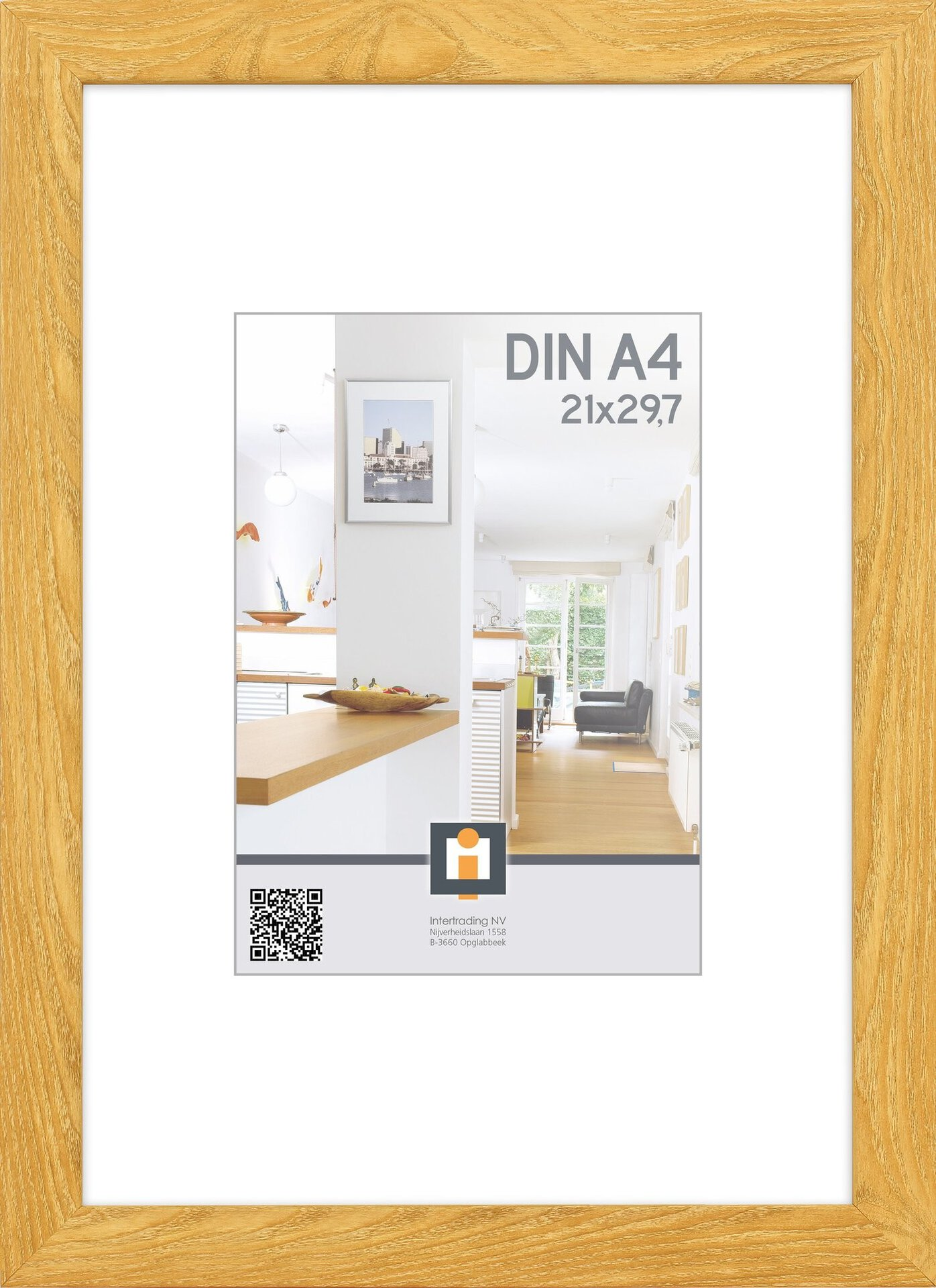 Bilderrahmen LIVORNO INTERTRADING Kunststoff 24 x 32 x 1 cm