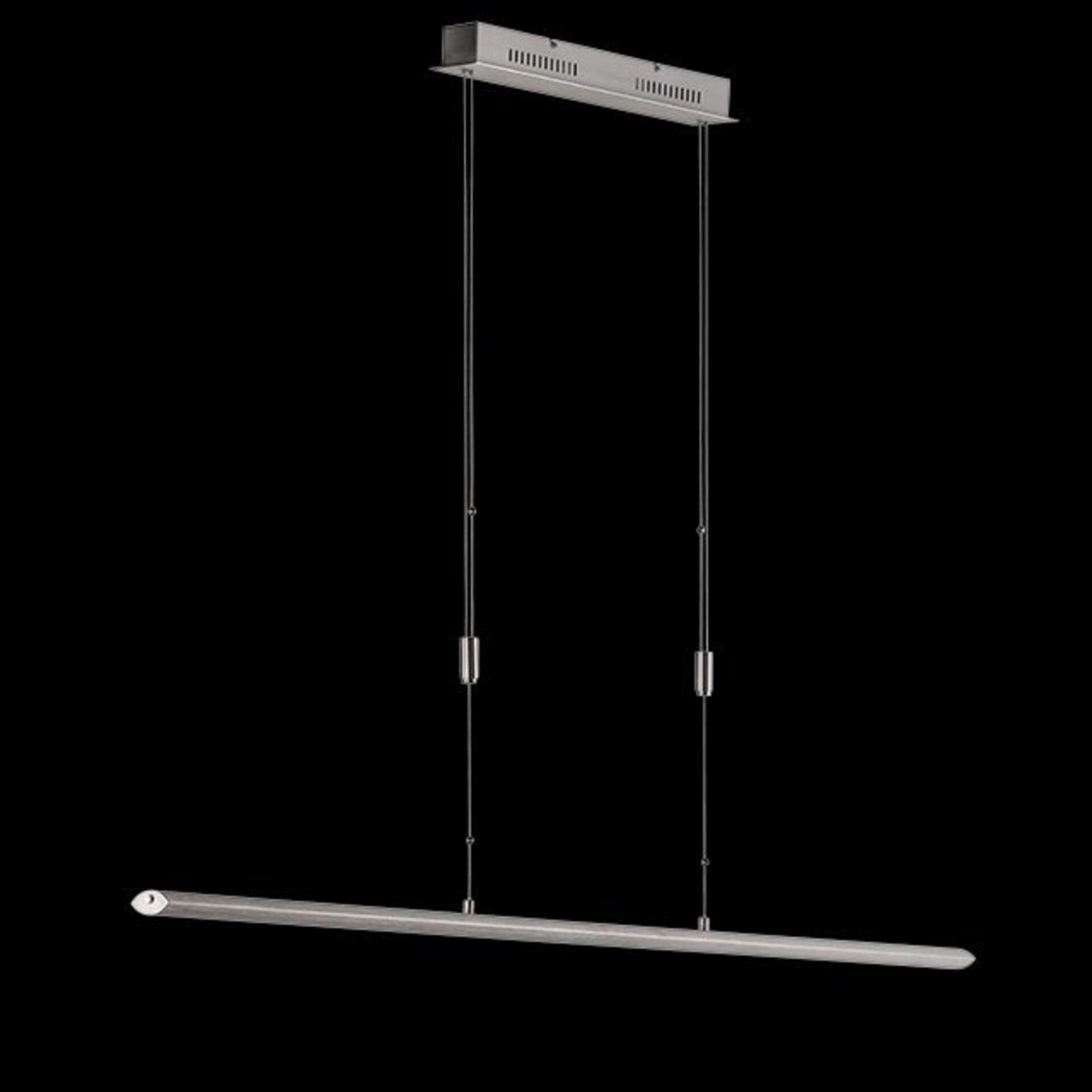 Hängeleuchte Beat Fischer-Honsel Metall silber 160 x 140 cm