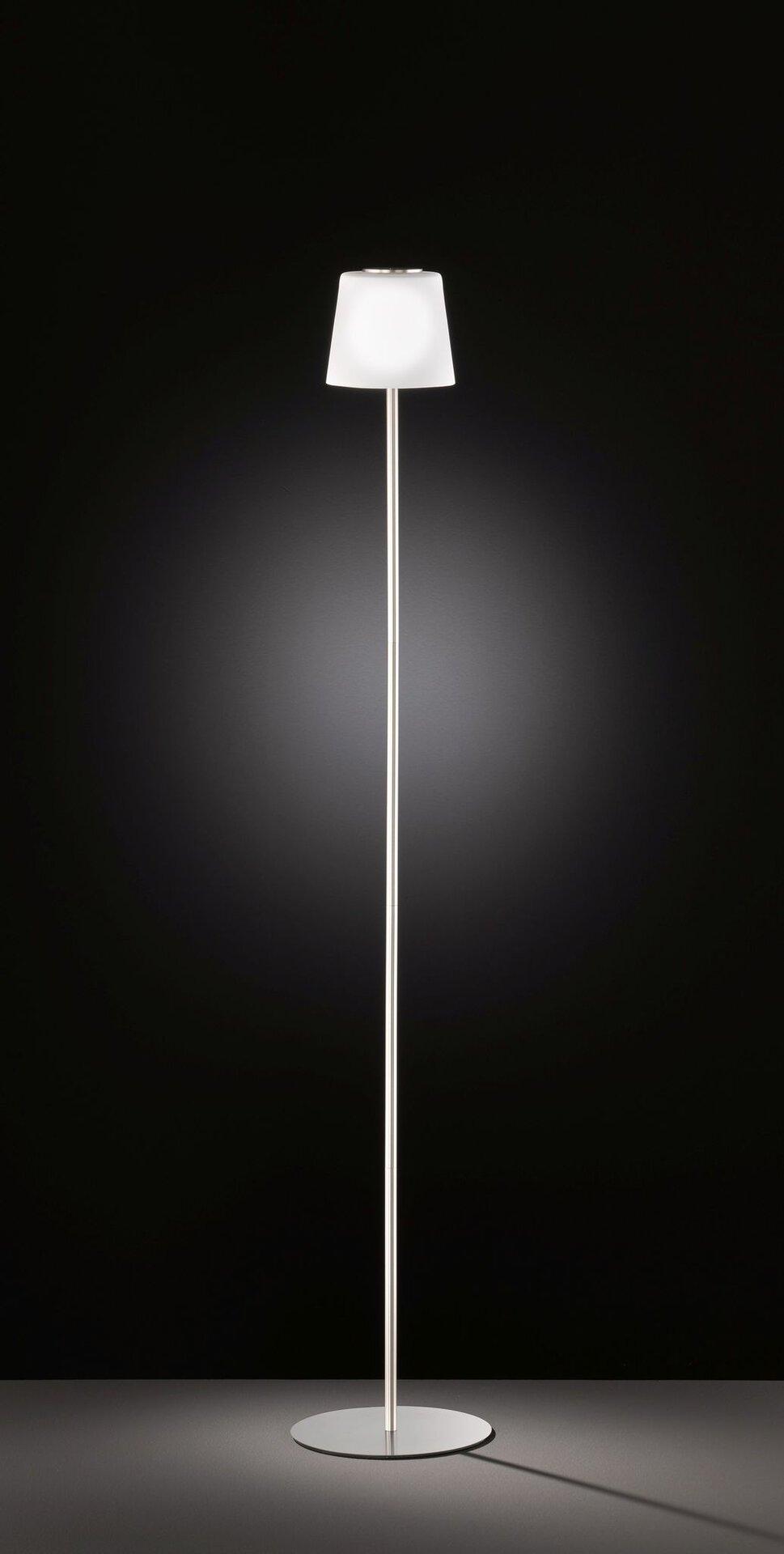 Stehleuchte GENK Wofi Leuchten Metall silber 20 x 115 x 20 cm