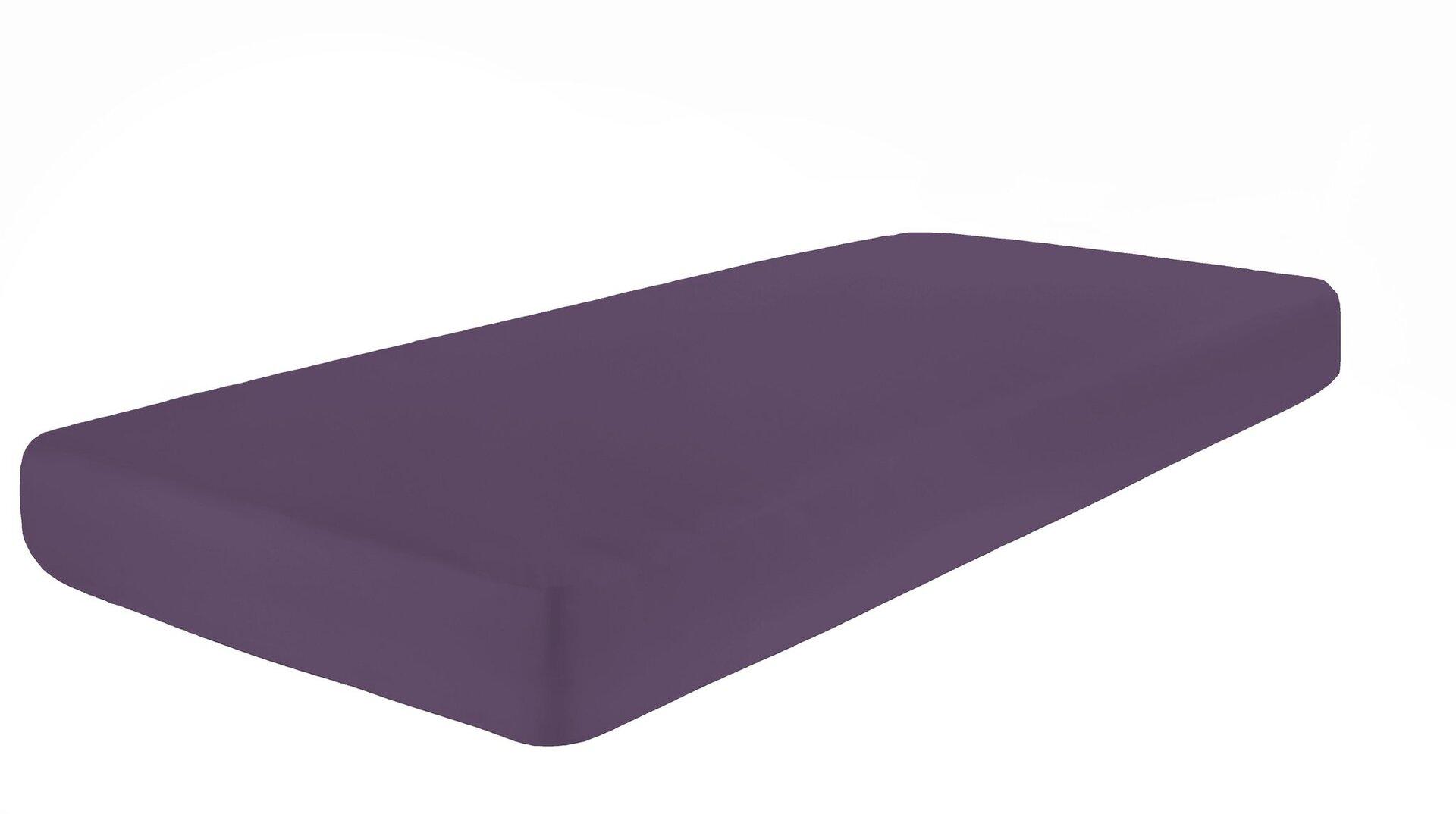 Jersey-Spannbetttuch Pro Night Textil lila 2 x 2 cm