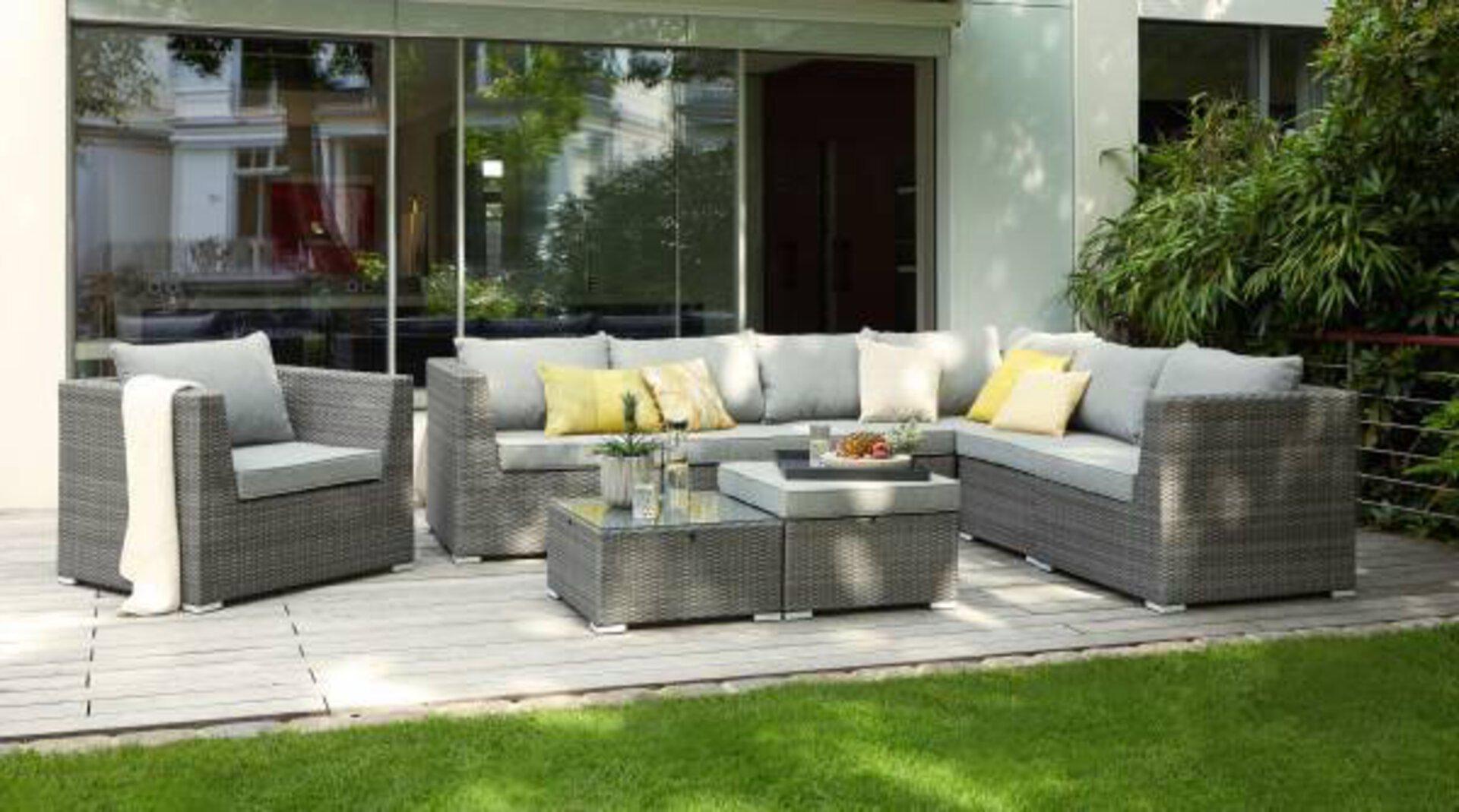 Loungesessel RUEGEN Outdoor Textil 75 x 102 x 84 cm