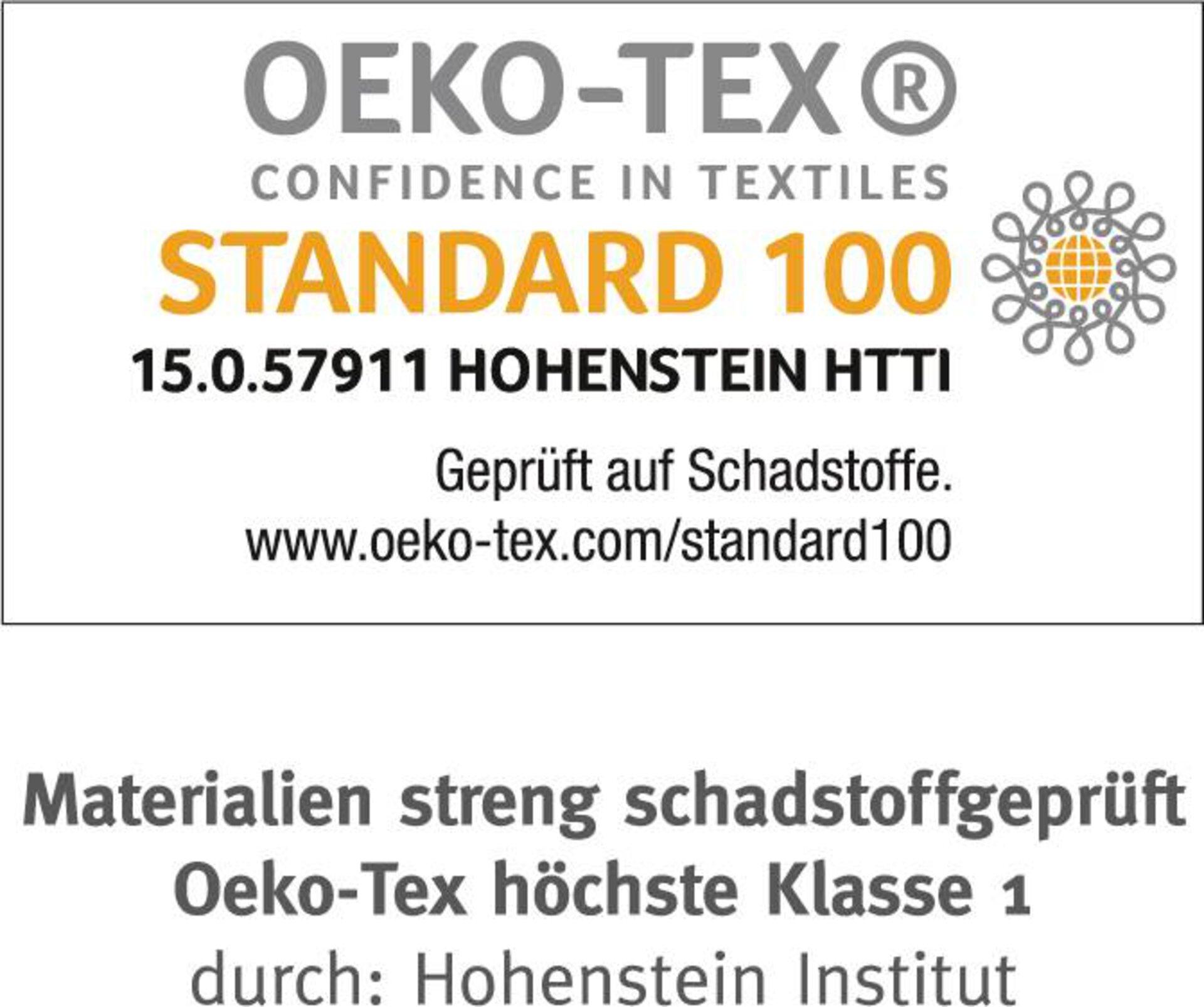 Bettdecke Nalu 90 Bio medium warm Paradies Textil weiß 100 x 135 cm