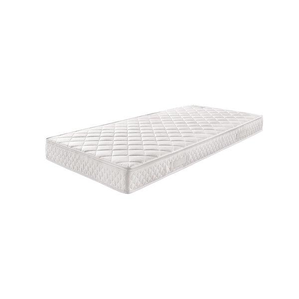 Matratze VALMONDO Textil weiß ca. 90 cm x 20 cm x 200 cm