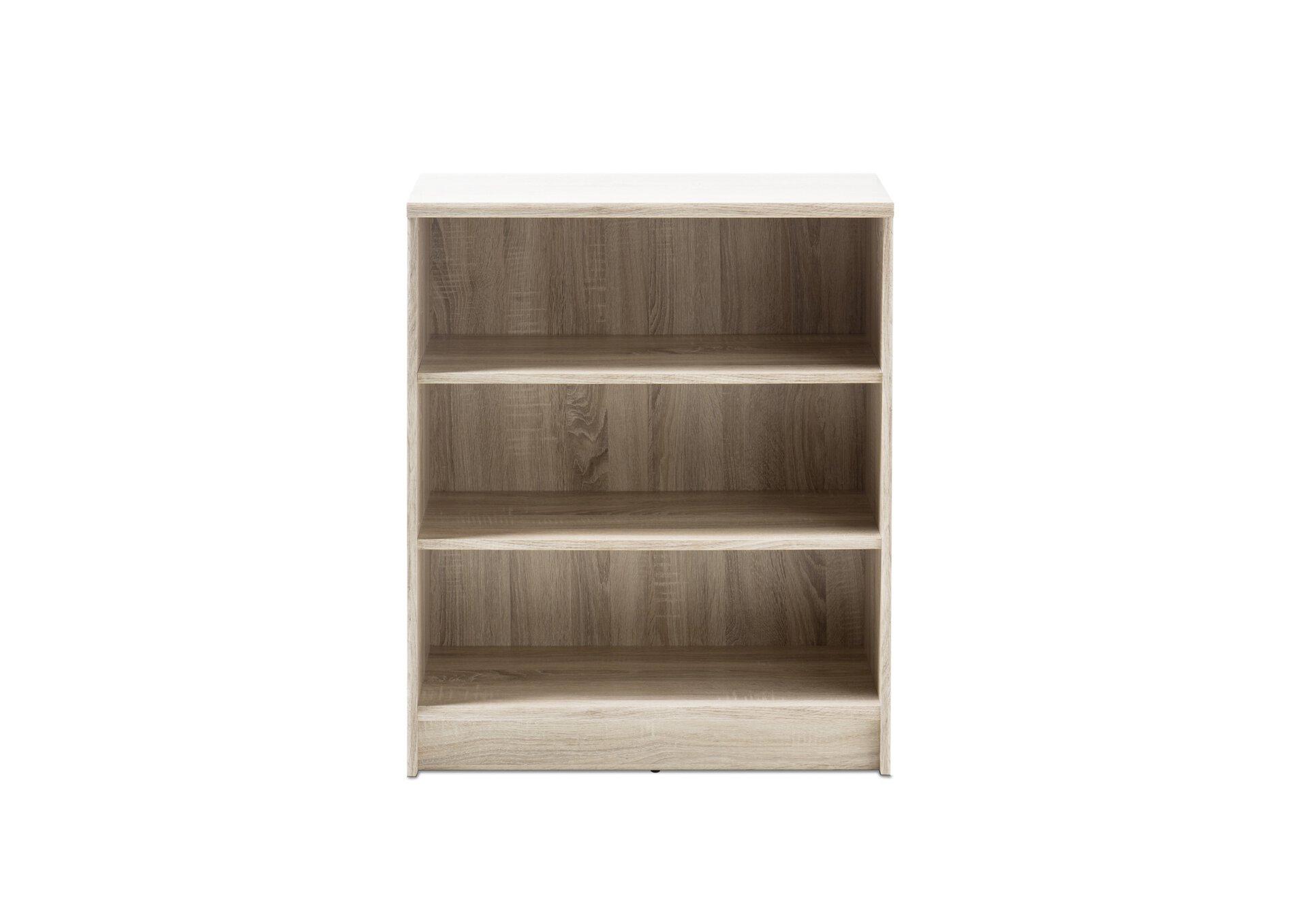 Regal OPTIMUS inbuy Holzwerkstoff braun 34 x 86 x 72 cm