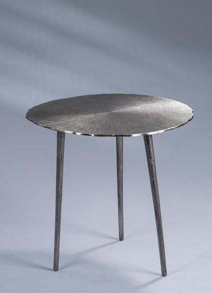 Couchtisch M2 Kollektion Metall Metallguss Nickel antik ca. 50 cm x 50 cm x 50 cm
