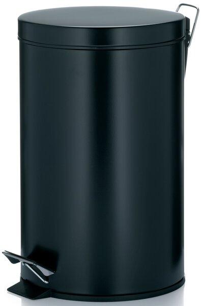 Müllbehälter Kela Metall schwarz matt