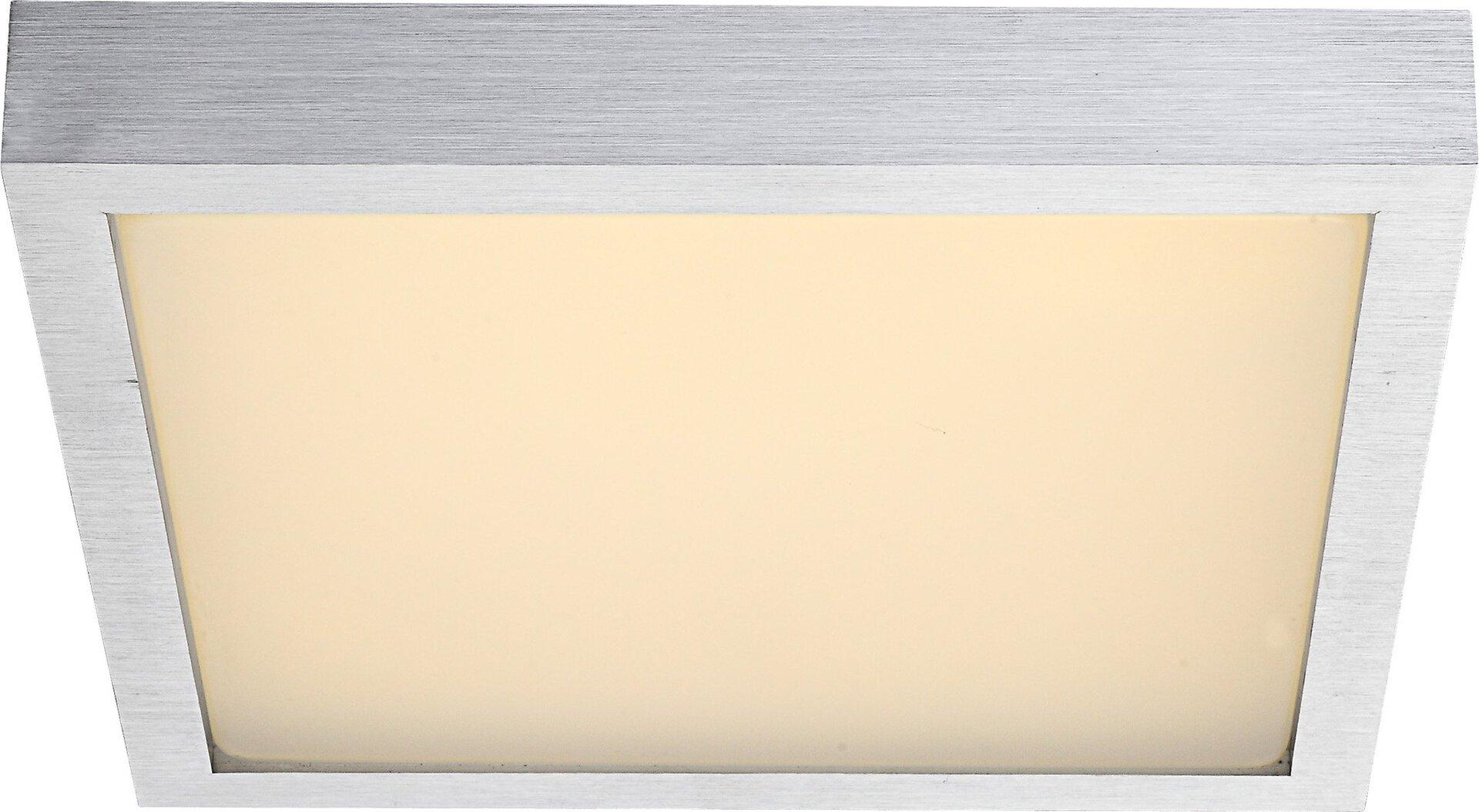 Deckenleuchte TAMINA Globo Metall silber 30 x 8 x 30 cm