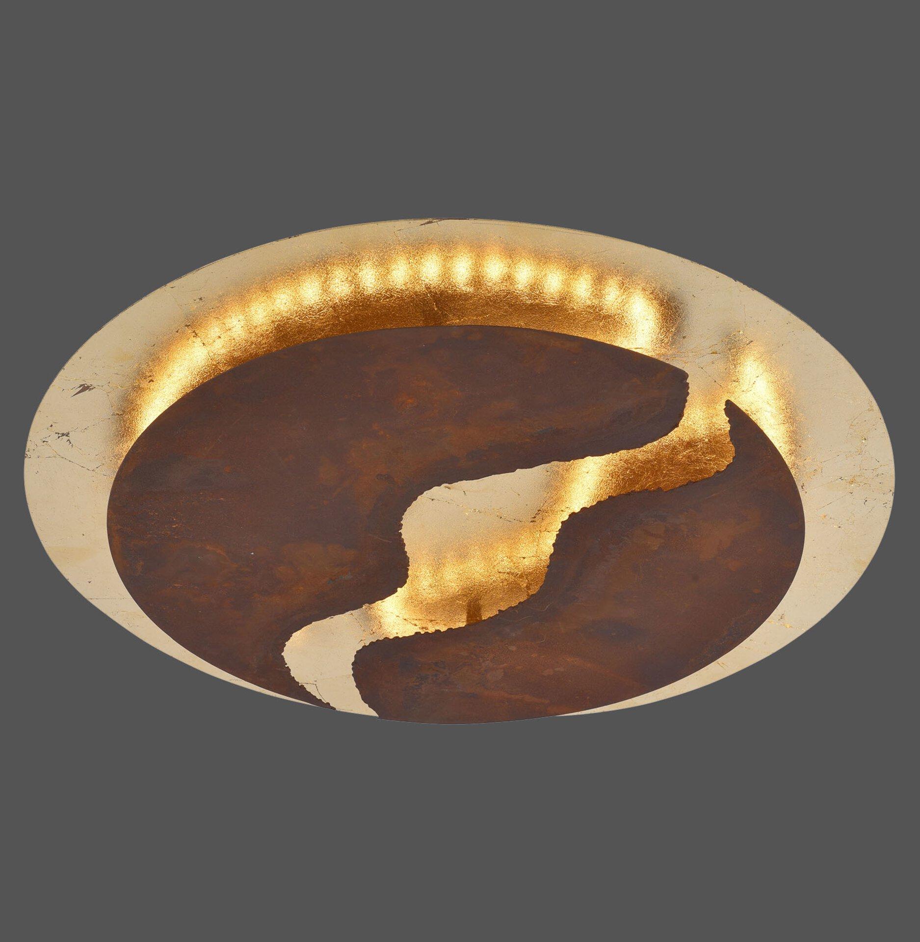 Deckenleuchte NEVIS Paul Neuhaus Metall 50 x 8 x 50 cm