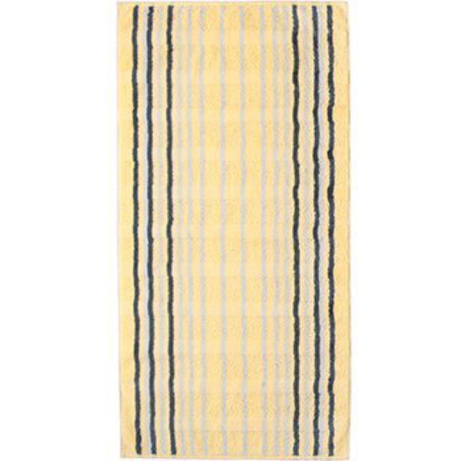 Duschtuch Cawö Textil gelb 80 x 150 cm