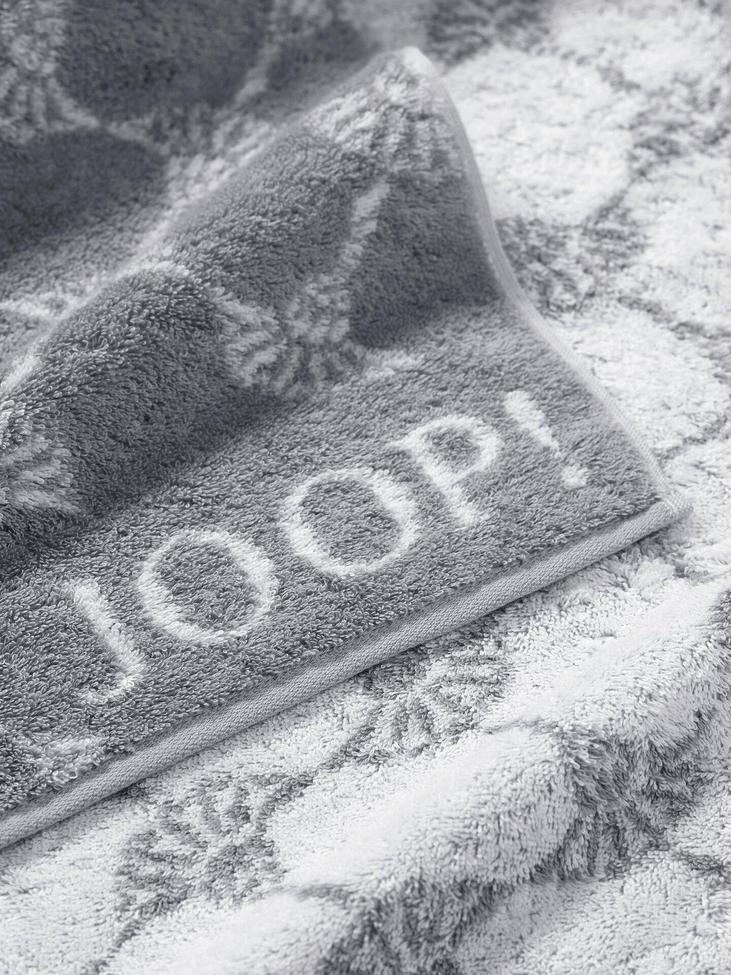 Duschtuch Cornflower Joop! Textil silber