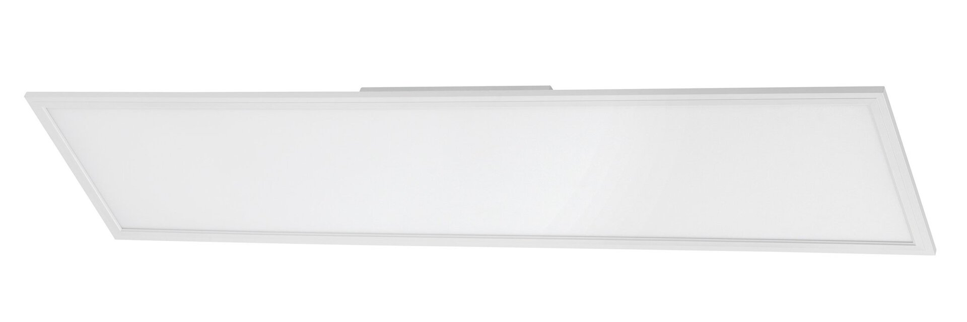 Deckenleuchte Piatto Briloner Metall weiß 30 x 5 x 120 cm