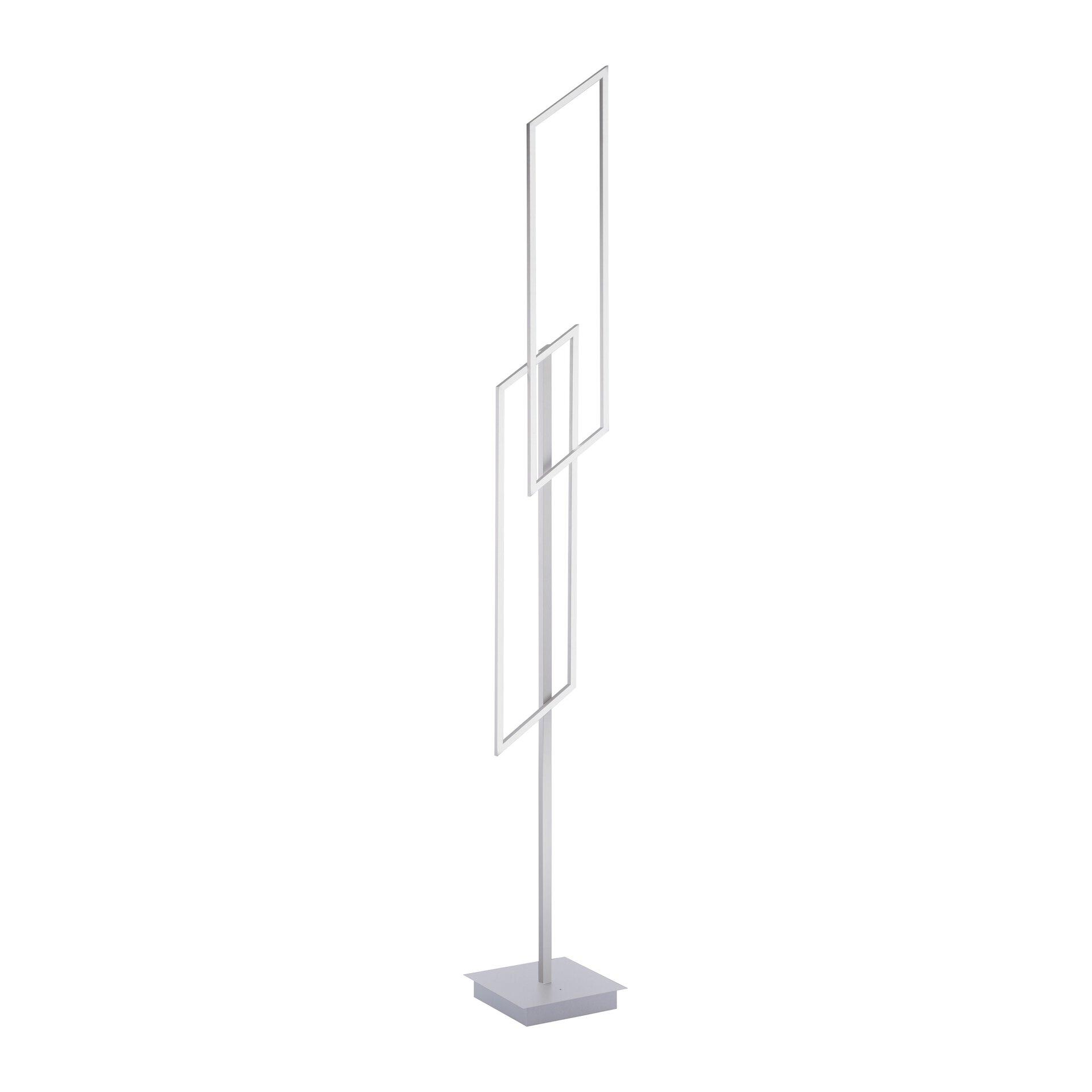 Stehleuchte INIGO Paul Neuhaus Metall silber 22 x 165 x 24 cm