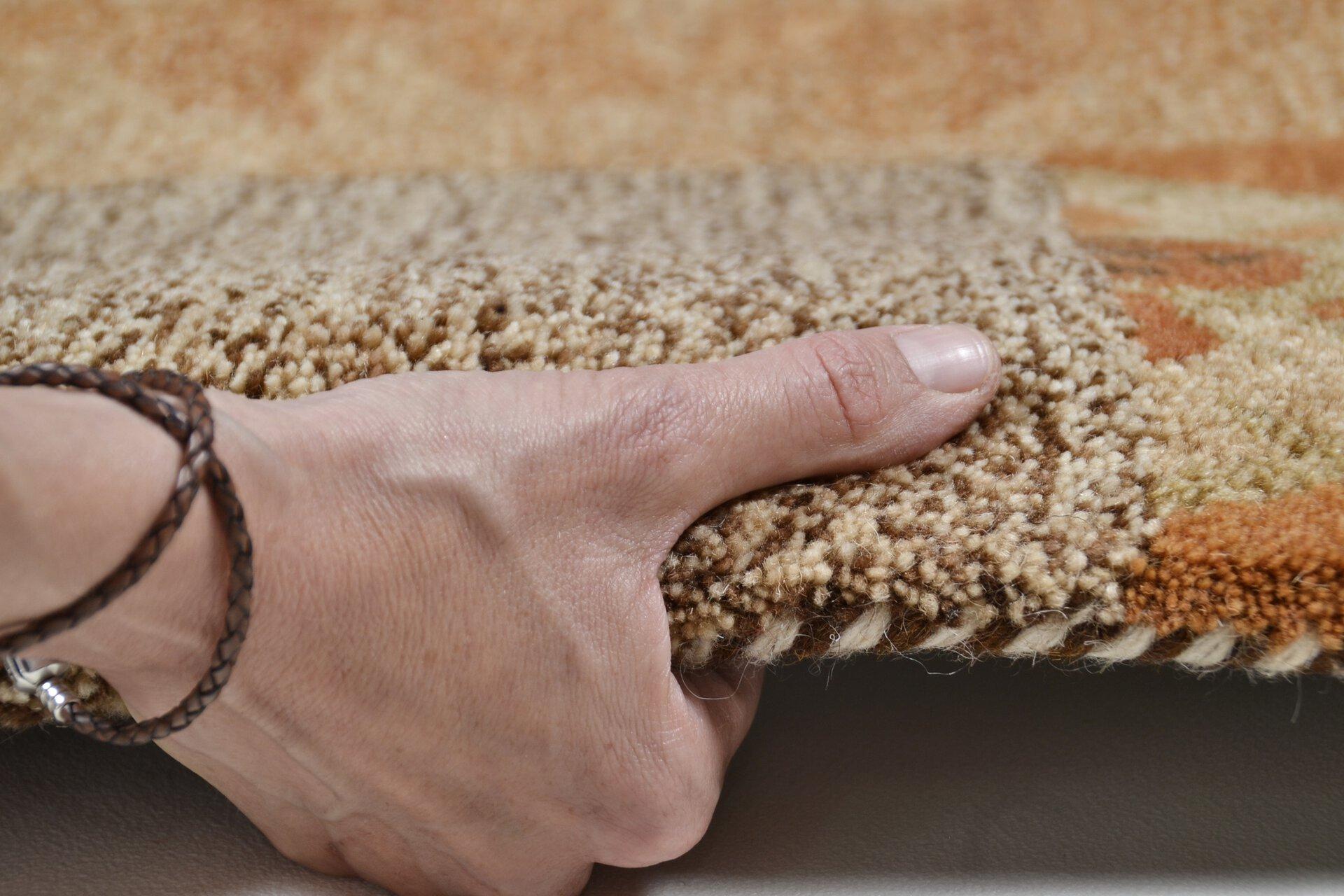 Handtuftteppich Fauna Theko Textil braun