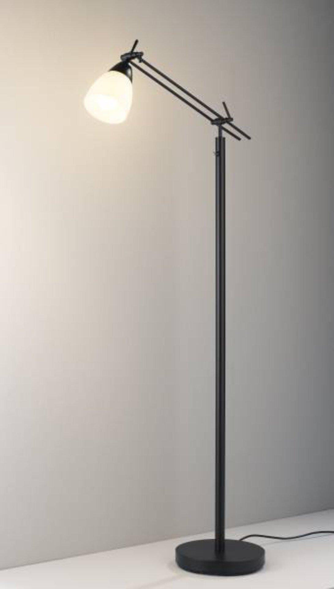 Stehleuchte Curo Casa Nova Metall schwarz 23 x 150 x 43 cm