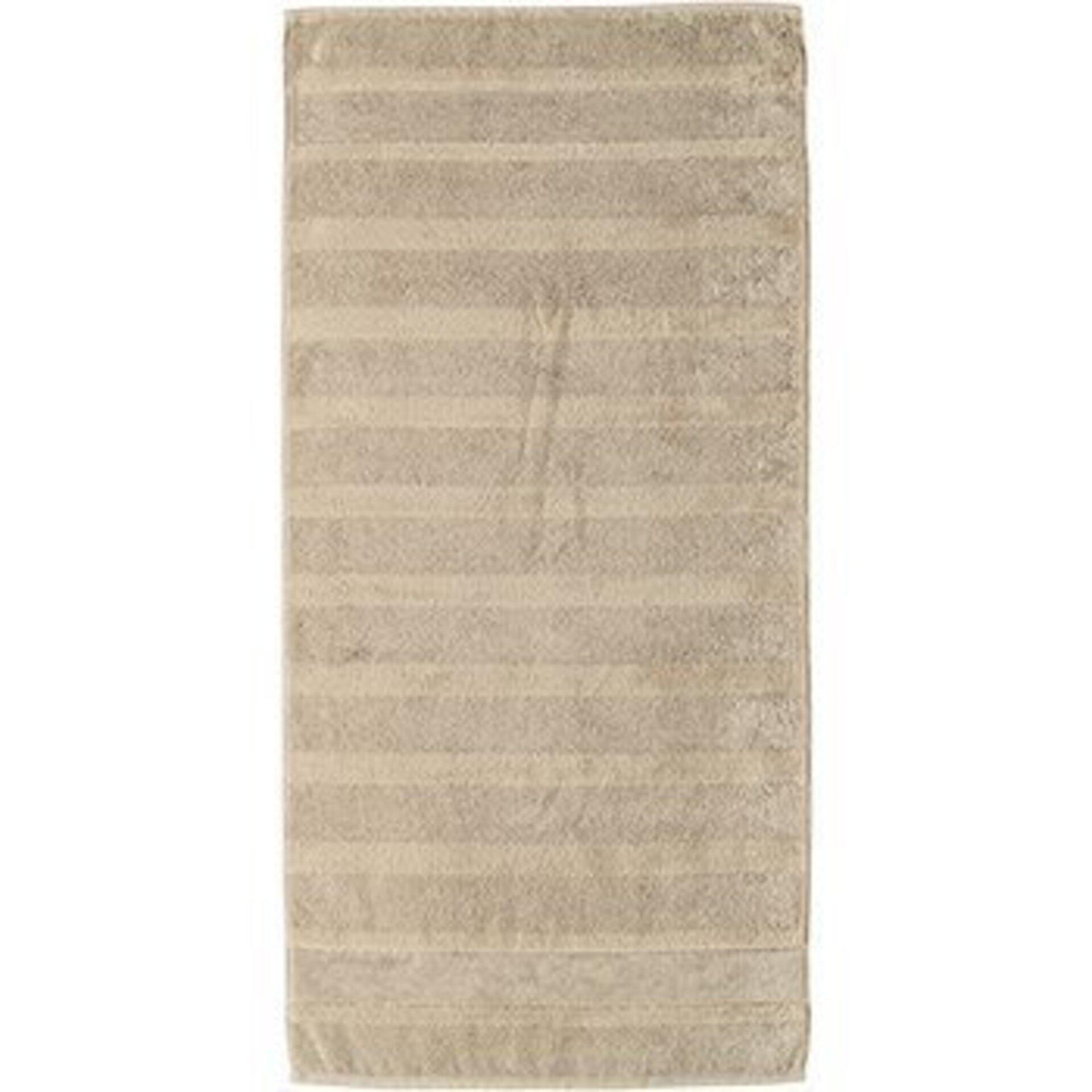Handtuch Cawö Textil beige