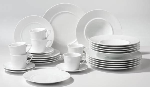 Geschirr Casa Nova Keramik weiß