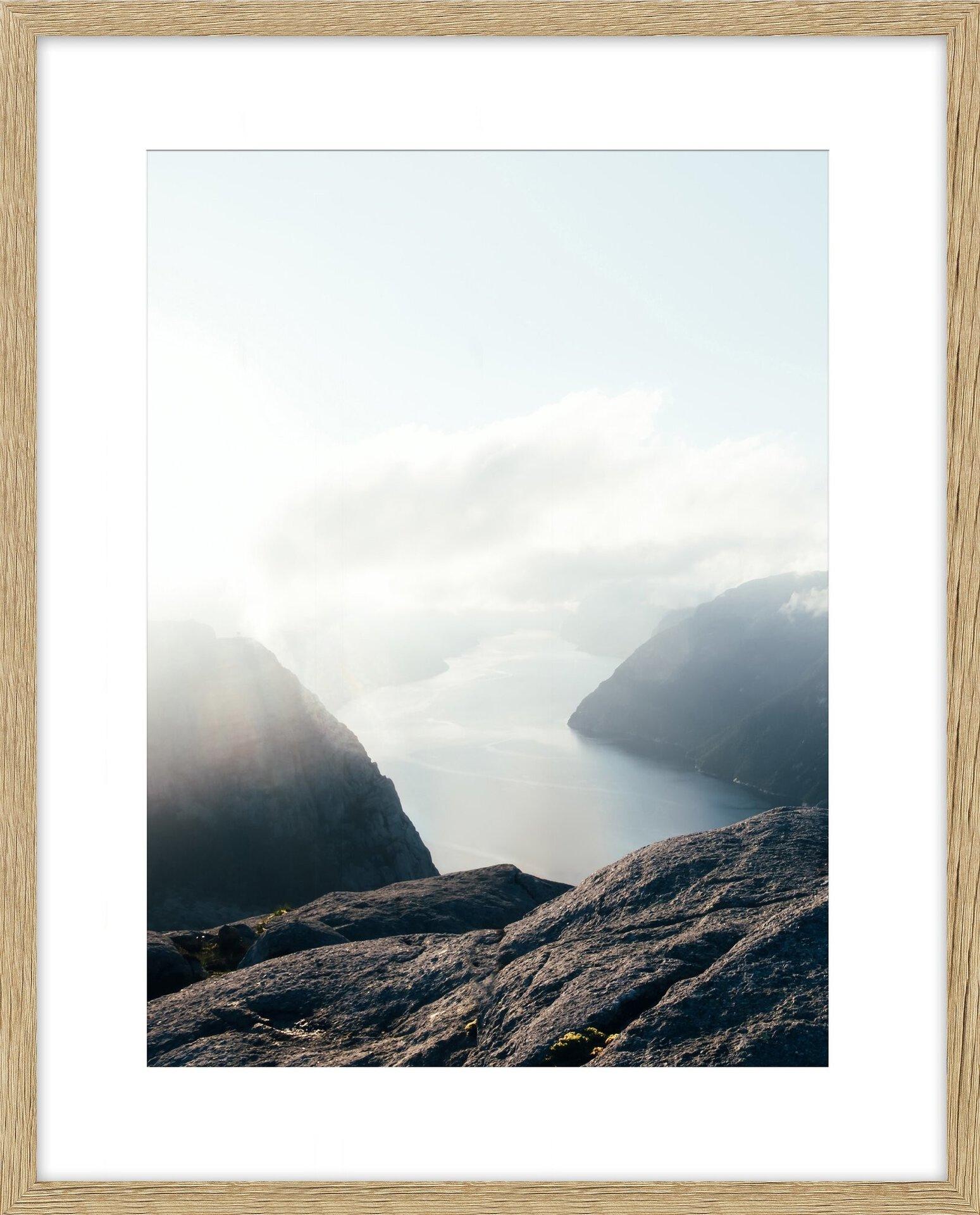 Bilderrahmen ICELAND INTERTRADING Holz 42 x 52 x 3 cm