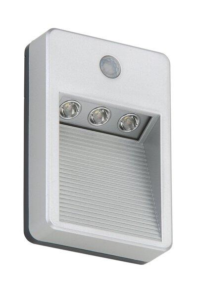 Außenbeleuchtung Lero Outdoor Briloner Metall titan, silber ca. 3 cm x 13 cm x 9 cm