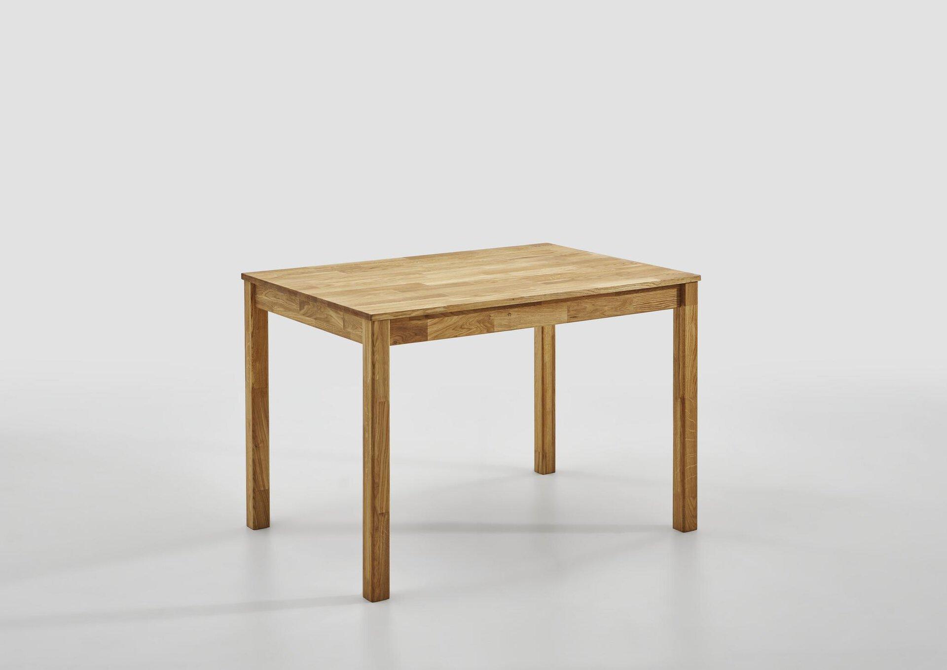 Esstisch MAILO SELF Holz braun 80 x 75 x 110 cm