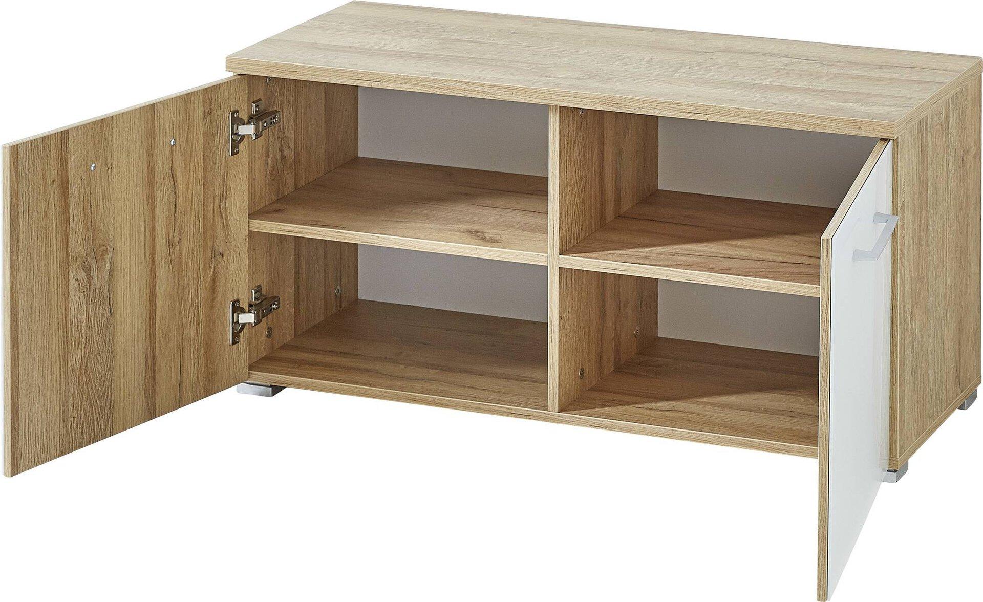 Garderobenbank SINTARA Vito Holzwerkstoff mehrfarbig 47 x 40 x 97 cm