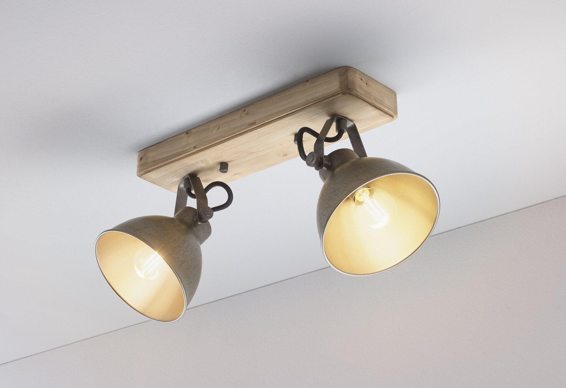 Strahler Timber Casa Nova Metall braun 3 x 10 x 35 cm