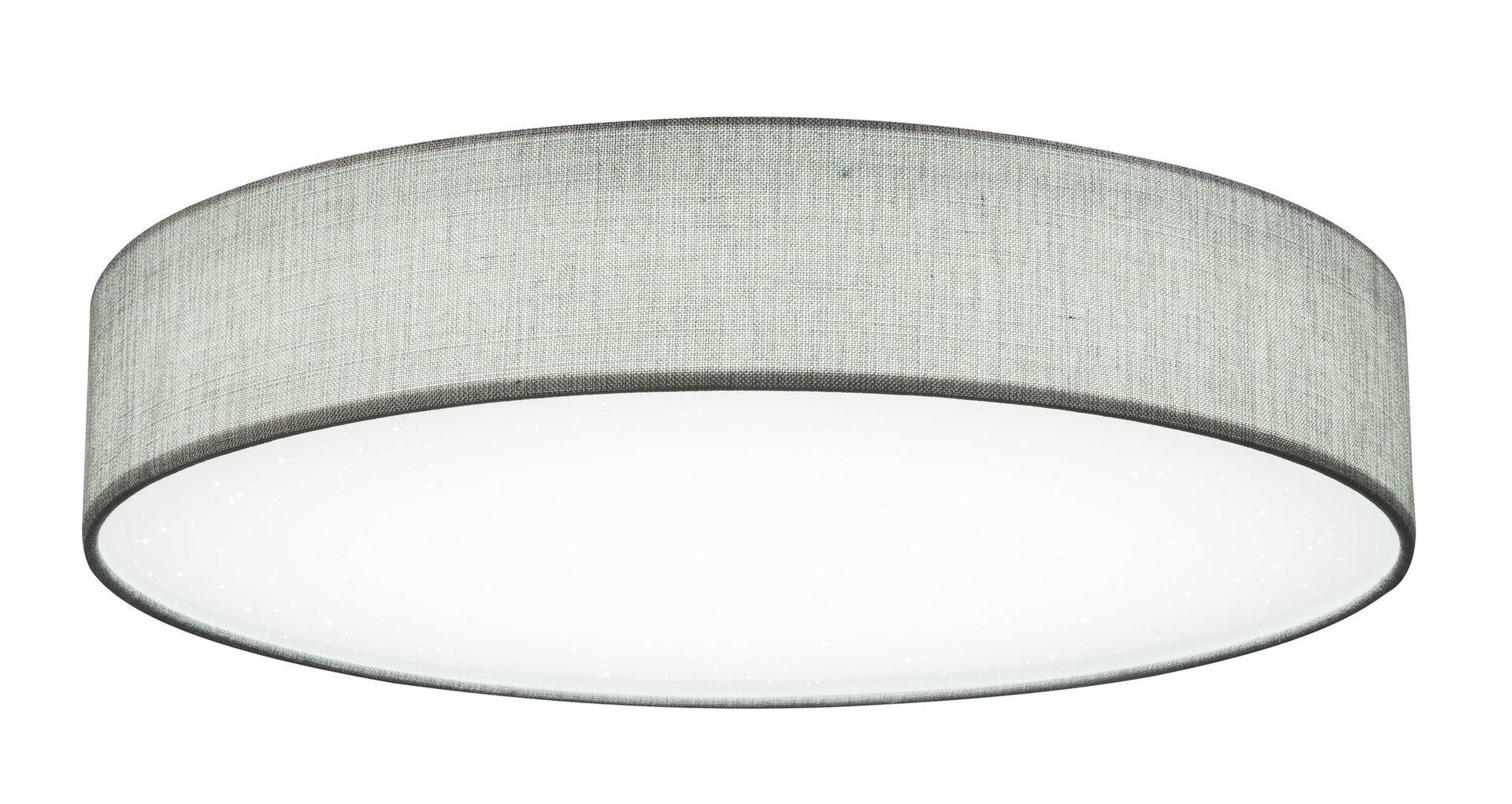 Deckenleuchte PACO Globo Metall grau 80 x 14 x 80 cm