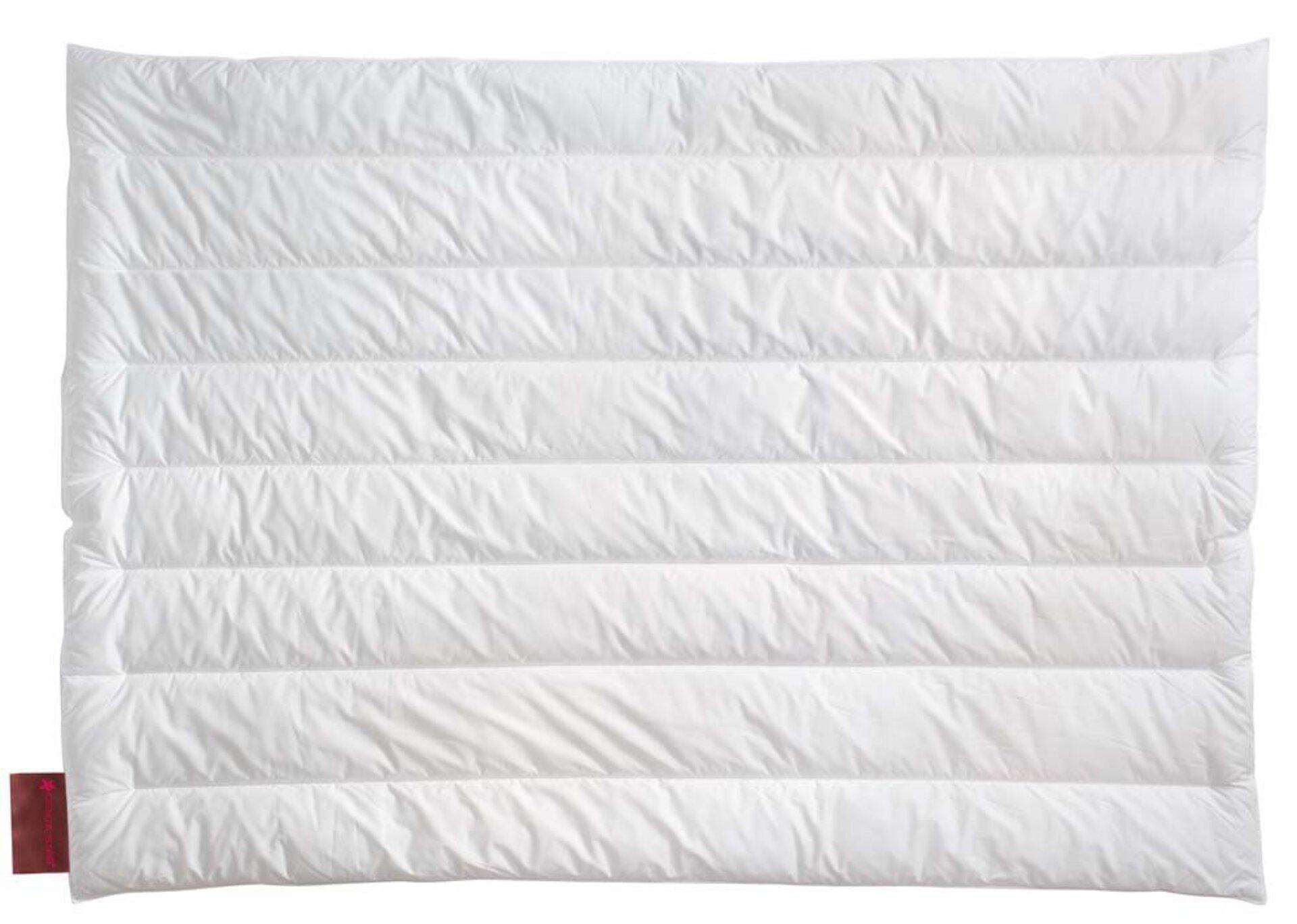 Monodecke VITAL PLUS Solo-Bett Centa-Star Textil weiß 135 x 200 cm