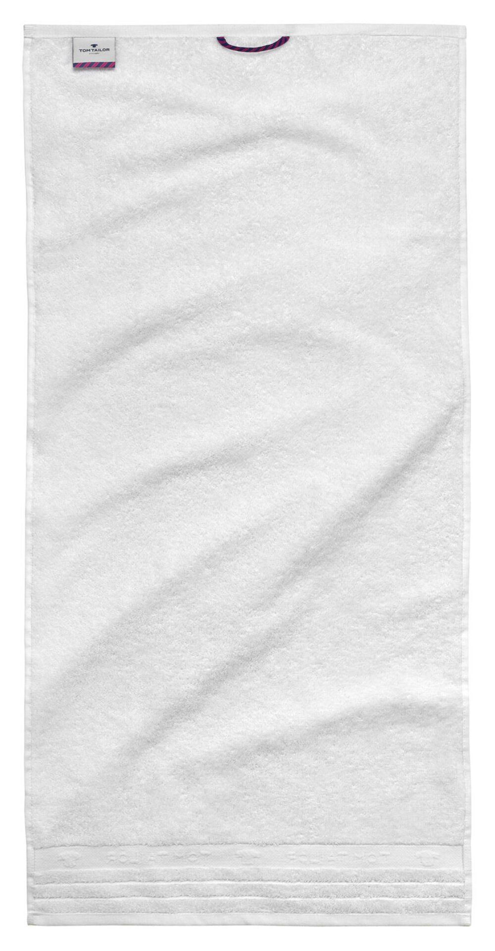 Gästetuch Uni Towel Tom Tailor Textil weiß 30 x 50 cm