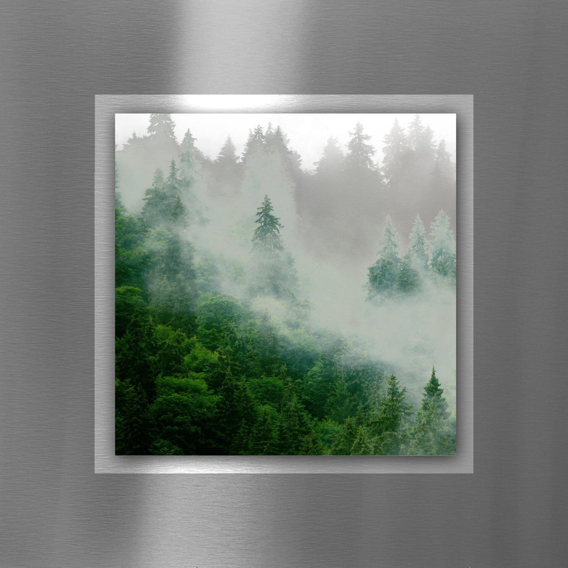 Bild Gr. Tr. & Wh. Mi. II Pro-Art Metall mehrfarbig 50 x 50 x 1 cm