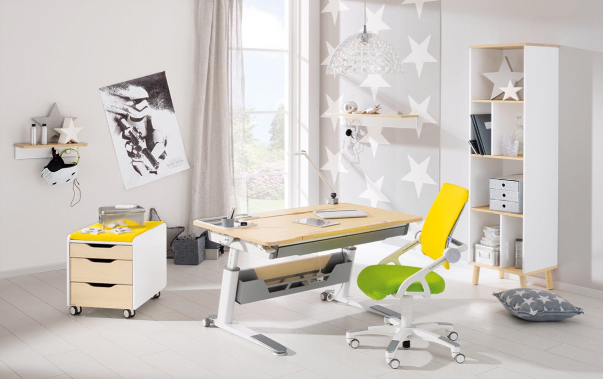 Schreibtisch JARO PAIDI Holzwerkstoff 76 x 76 x 120 cm