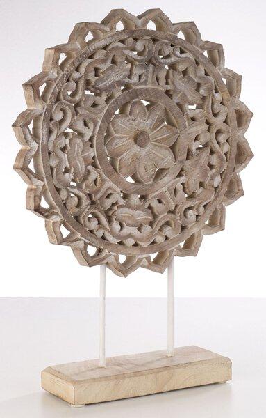 Dekoobjekte Casa Nova Holz, Metall braun ca. 30 cm x 41 cm x 8 cm
