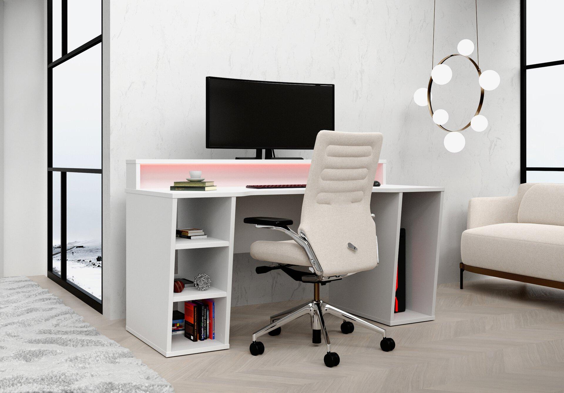 Schreibtisch TEZAUR Forte Holzwerkstoff 72 x 91 x 160 cm