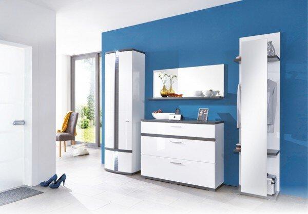 Garderobe Decodom Holzwerkstoff Weiß